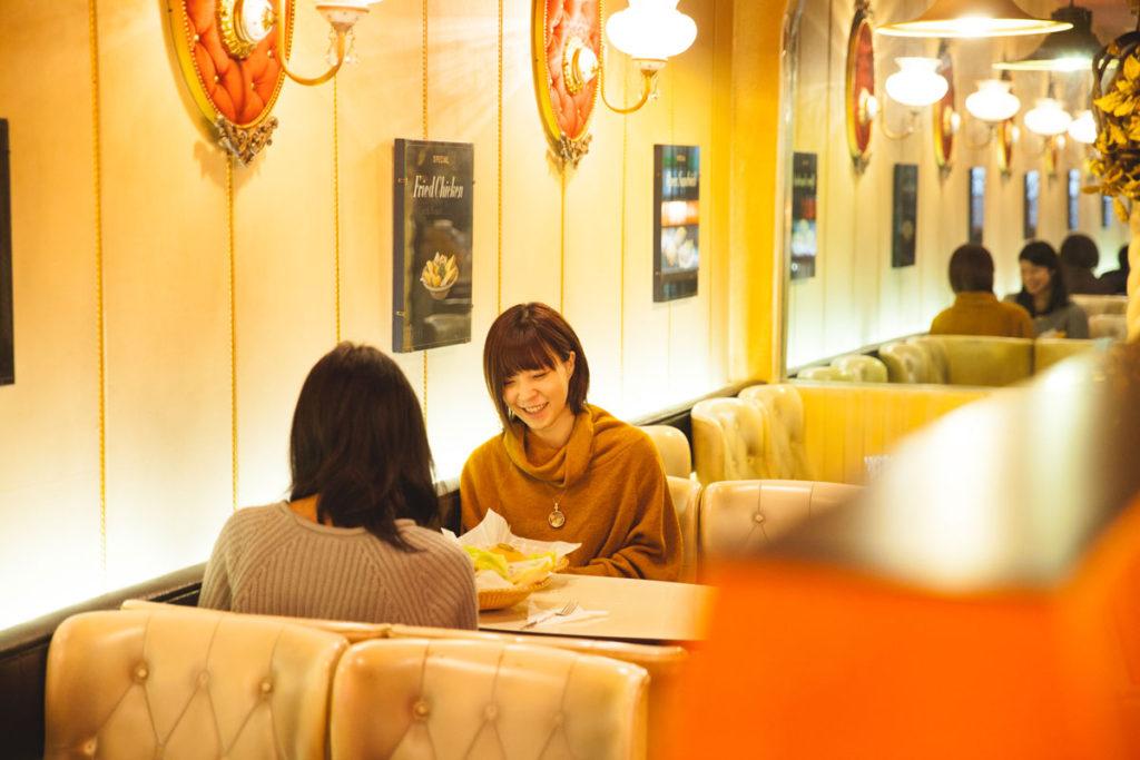 喫茶店 ボンネット